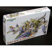 Eduard - Edk8508 Raf Ww2 Personnel 1:48 Plastic Kit Maquette