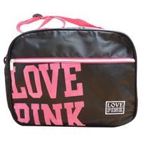 Love Pink - Sac reporter Noir 38 Cm
