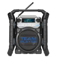 Perfect Pro - Radio de chantier à réception numérique Dab+ et Fm LCD - Led Bluetooth Team1