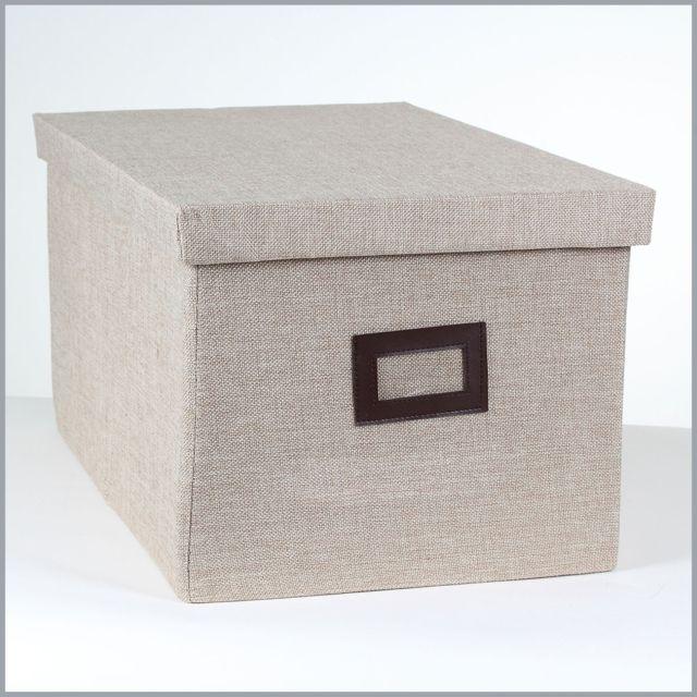 Casame Boîte de rangement polyester grand modèle