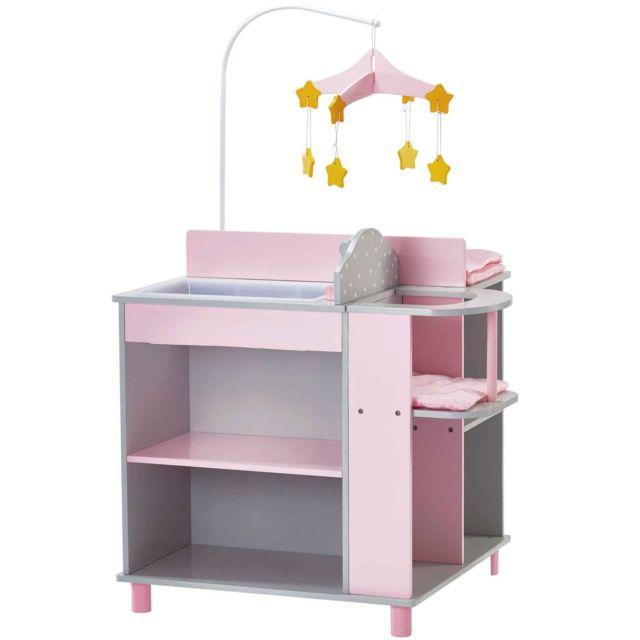 olivia 39 s little world olivias meuble table langer poupon poup e rangement jeux d imitation. Black Bedroom Furniture Sets. Home Design Ideas