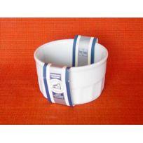 Porcelaine De Reussy - Ramequin 10 cm Forme Haute Porcelaine Blanche