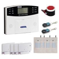EMATRONIC - Alarme maison sans fil GSM 4 ou 5 pièces