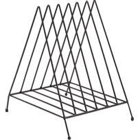 AMADEUS - Porte-magazines métal noir