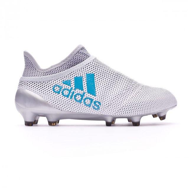 new concept da2a5 d14d4 Adidas - Chaussure de football Jr X 17+ Purespeed Fg White-Energy  blue-Clear grey Taille 36 - pas cher Achat   Vente Chaussures foot -  RueDuCommerce
