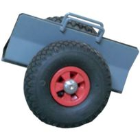 Fimm - Chariot Porte Panneau 250 Kg - Long.hors tout mm:400 mm - Larg.hors tout mm:330 mm - Prof.hors tout mm:310 mm