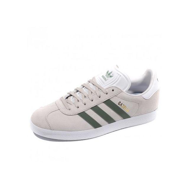 55a8be8ca53 Adidas originals - Chaussures Gazelle Gris Femme Adidas - pas cher ...