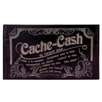 Caroline Lisfranc - Pochette Cache Cash prune
