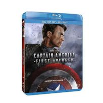 Marvel - Captain America : First Avenger Combo Blu-Ray 3D
