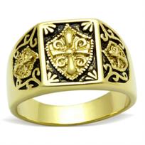0a49891ba31 Best Of Bijoux - BestOfBijoux® - Adamas Gold - Bague Homme - Chevalière  Blason -
