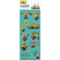 Minions - Minion - 1 planche 12 stickers