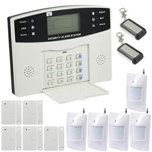 ematronic alarme kit mixte sans fil et filaire gsm al01 premium pour 4 ou 5 pi ces pas. Black Bedroom Furniture Sets. Home Design Ideas