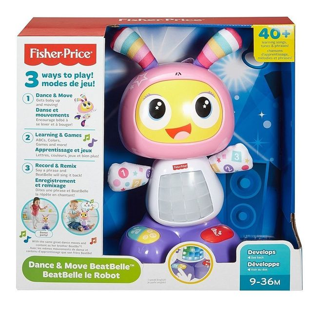 df3c5433a0f0e0 FISHER PRICE BEBA LE ROBOT - DYP07