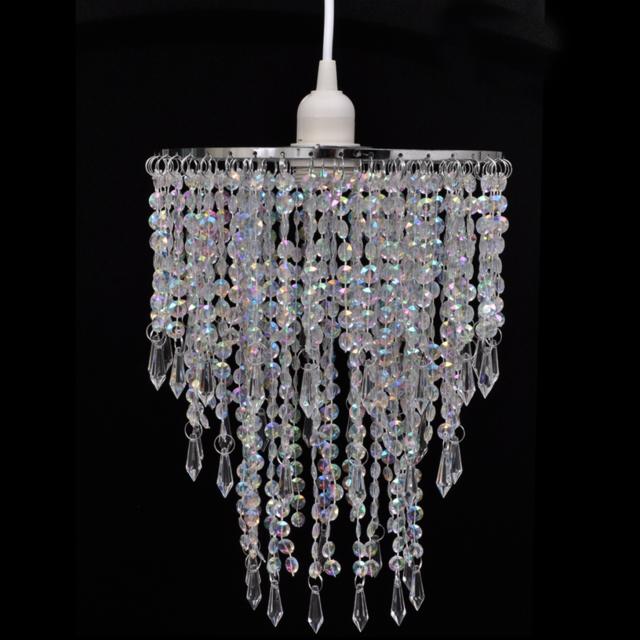 Vidaxl - Lustre suspendu en cristal 22,5 x 30,5 cm