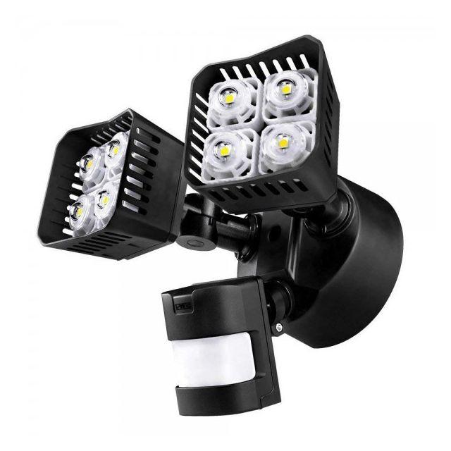 alpexe lampe de securite avec pir senser eclairage. Black Bedroom Furniture Sets. Home Design Ideas