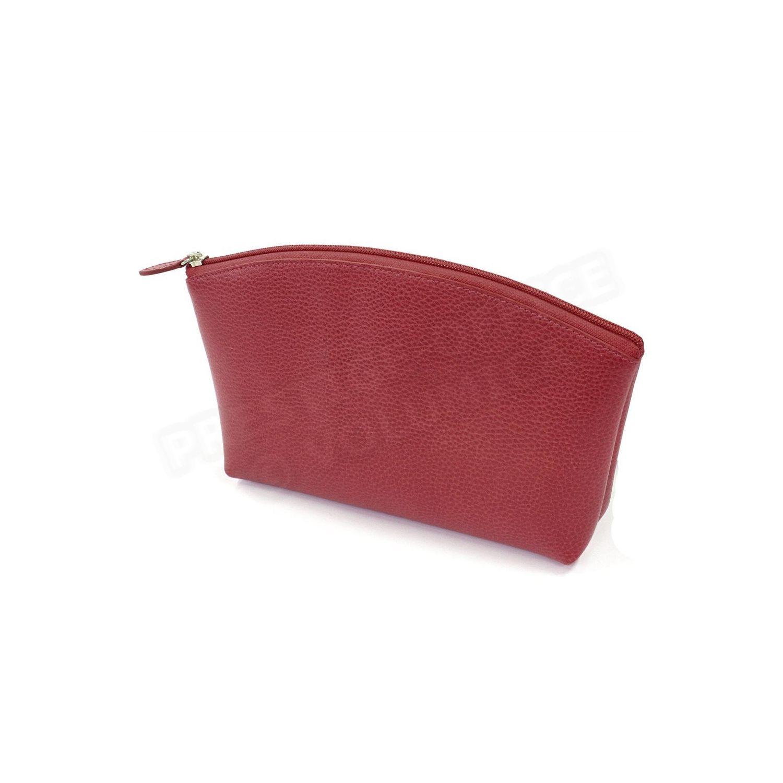 VOLUMICA- Trousse de voyage cuir Rouge-bordeaux Beaubourg 05060456040e