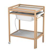 table a langer avec baignoire achat table a langer avec. Black Bedroom Furniture Sets. Home Design Ideas
