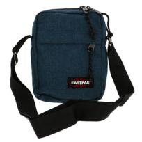 a0860d5fcc Pepe Jeans - Sacoche zippée Accessoires en piqué bleu pétrole à ...