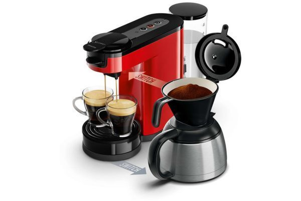 philips senseo hd7892 81 switch rouge intense achat cafeti re expresso. Black Bedroom Furniture Sets. Home Design Ideas