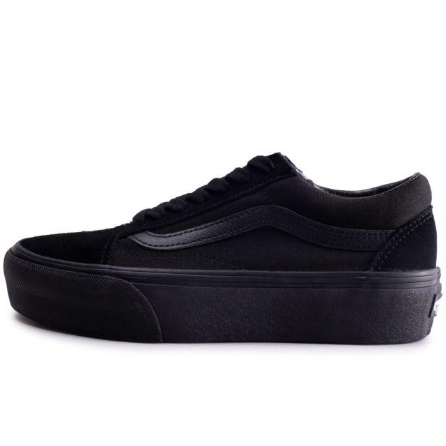 vans noir femme old school