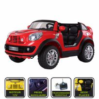 Cristom - Voiture électrique pour enfant Mini BeachComber ® licence Mini