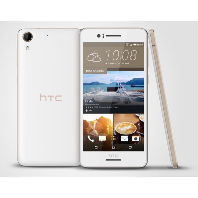 HTC Desire 728 Blanc Irisé