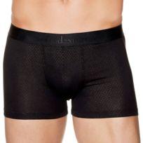 Aubademen - Boxer Homme Coton Modal Laque Noir Or