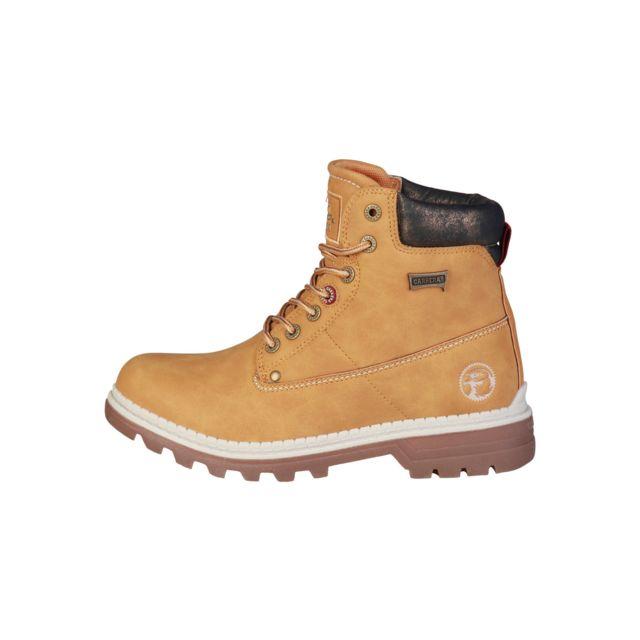 buzzao bottines lacets couleur camel montantes carrera jeans pas cher achat vente boots. Black Bedroom Furniture Sets. Home Design Ideas