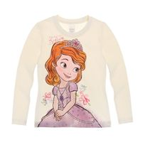 Princesse Sofia - Disney Fille Tee-shirt manches longues
