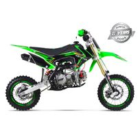 Gunshot - Moto Pit Bike 150 Pro-f - Édition Monster - Vert - 2017