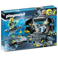 Playmobil - 9250 Top Agents - Centre de commandement du Dr.Drone