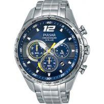 Pulsar - Montre Racing Homme Bleu - Pz5015X1 - Promo - En Soldes