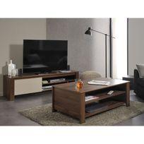 altobuy alessio ensemble table basse meuble tv