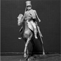 Master Box - Figurine Guerres napoléoniennes : Hussard français 1810-1815