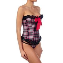 Intimax - Corset Escoces Rouge