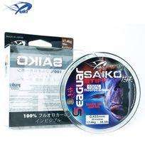 Yuki - Nylon 100% Fluorocarbon Seaguar Saiko Stiff 50M