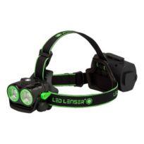 Led Lenser - Pack lampe frontale Xeo 19R noir vert + accessoires