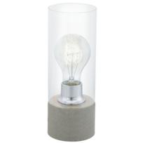 Eglo   Lampe Ampoule Filament Torvisco H27 Cm   Gris