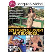 Jacquie Et Michel - Des brunes jouent aux blondes