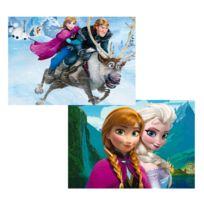 Educa - Puzzle 2 x 48 pièces : La Reine des Neiges Frozen