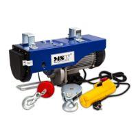 Helloshop26 - Palan treuil électrique pro avec télécommande 1 300 W 400/800 kg outils atelier garage 3414044
