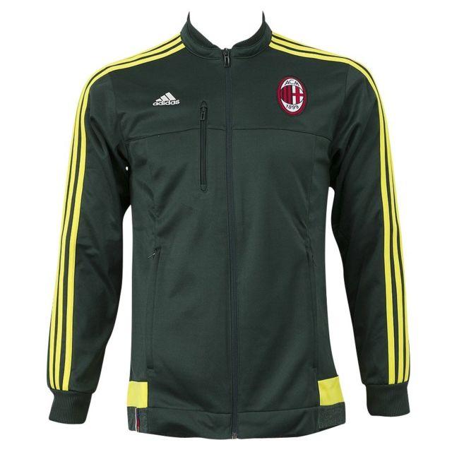 Achat Survêtements Cher Pas Vente Ac Adidas Veste Milan Vert wqnYOZ7Z
