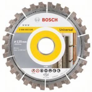 5616b85fa19f98 Bosch - Disque diamant spécial pierre et béton pour meuleuses Ø125mm  alésage 22,23mm Standard