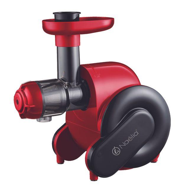 naelia extracteur de jus 150w rouge rubis fpr 55802 nae pas cher achat vente. Black Bedroom Furniture Sets. Home Design Ideas