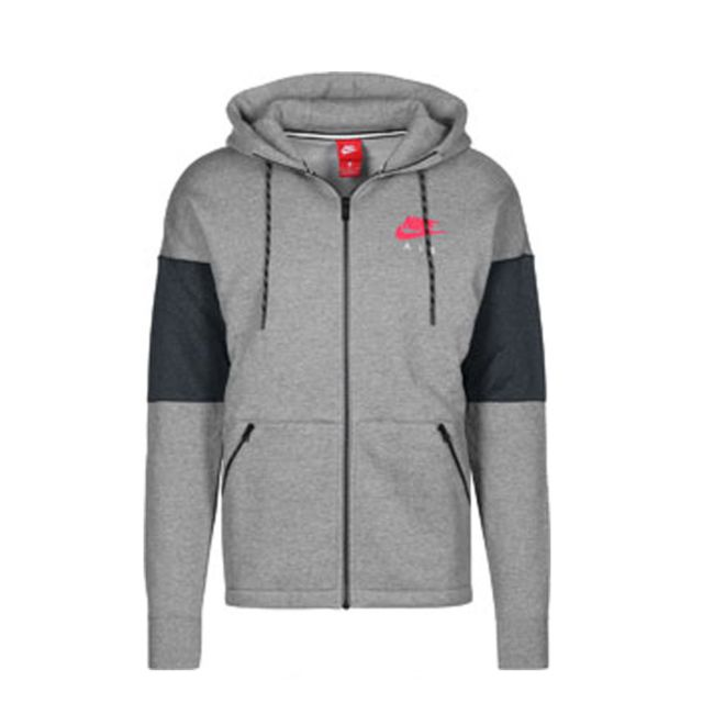 new lower prices best wholesaler fashion styles Nike - Sweat à capuche Sportswear Air - Ref. 861612-091 Gris ...