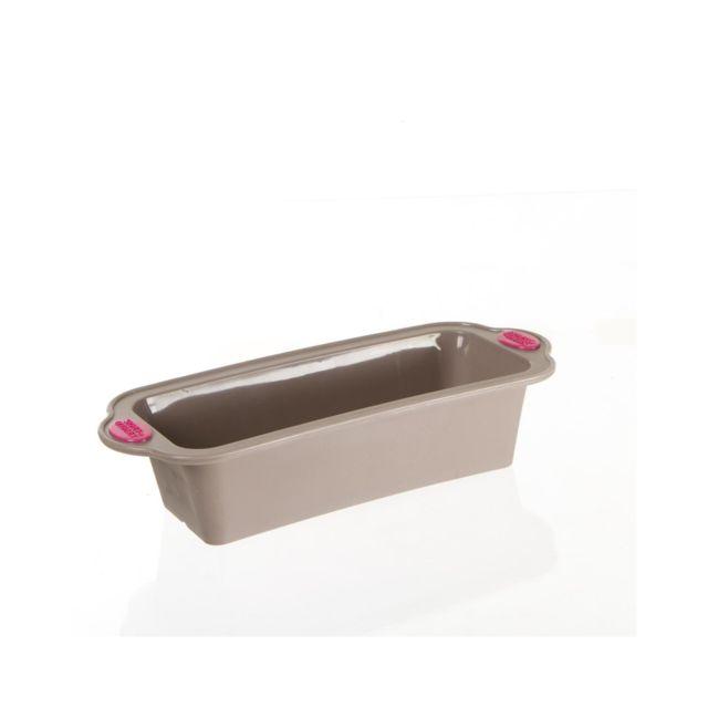 TOPDECO Moule à cake en silicone avec armature rigide