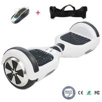 COOL AND FUN - COOL&FUN Hoverboard, Scooter électrique Auto-équilibrage,gyropode 6,5 pouces Blanc