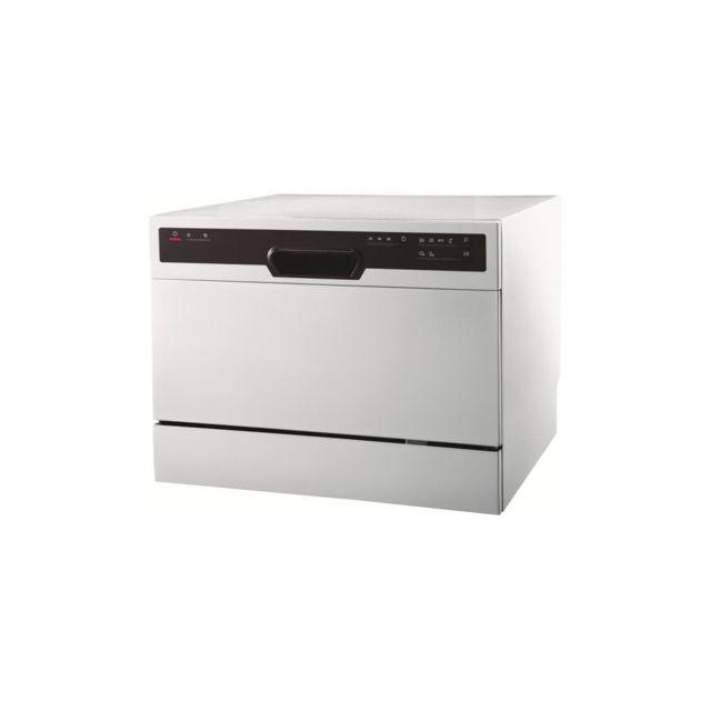 regarder b04f1 e2389 Oceanic Ocealvc649W - Lave vaisselle - 6 couverts - 49 dB ...