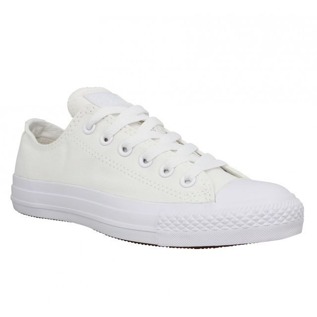 Converse - Chuck Taylor All Star toile Homme-41-Mono Blanc ...