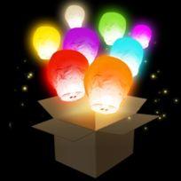 Skylantern - 6 Lanternes volantes multi-couleurs